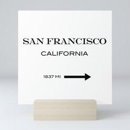San Francisco - California  Mini Art Print