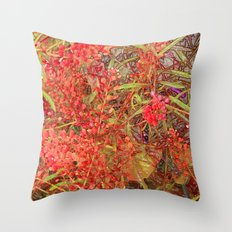 Clipped 1 Throw Pillow