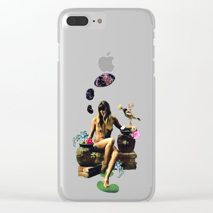 Hypermnestra Clear iPhone Case