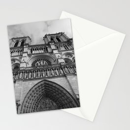 Notre Dame (looking up) Stationery Cards