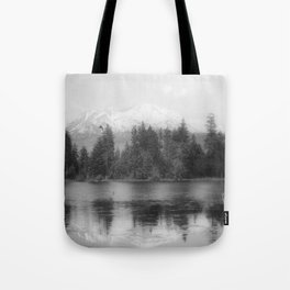 View of Mount Shasta Tote Bag