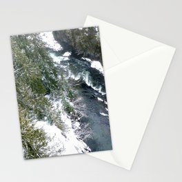 Cold stream Stationery Cards