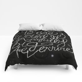 Peter Pan Quote Comforters