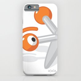 pin jacks glance iPhone Case