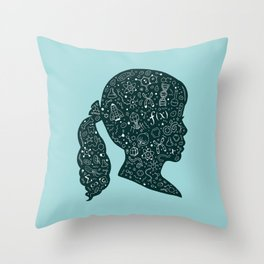 In a Science State of Mind Throw Pillow