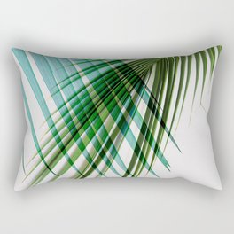 Palm Leaf, Botanical Leaves Rectangular Pillow