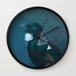 Tui & Scallops  Wall Clock