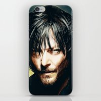 daryl iPhone & iPod Skins featuring Daryl Dixon by p1xer