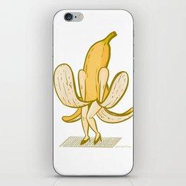 Banana Actress iPhone Skin
