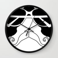 mexico Wall Clocks featuring Mexico by PintoQuiff