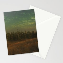 Low Hills - edit Stationery Cards