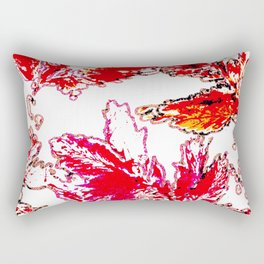 Autumn stamping leaves Rectangular Pillow