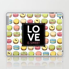Love is sweet. Laptop & iPad Skin