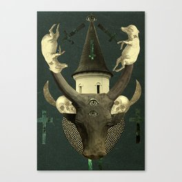 death rattle Canvas Print