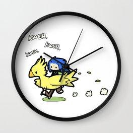 Saix and Chocobo Wall Clock