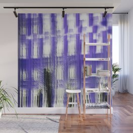 Purple building Wall Mural