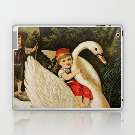 Hansel & Gretel With Swan Laptop & iPad Skin