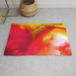 Abstract Bliss 1F by kathy Morton Stanion Rug