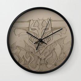 Taurus Sketch Wall Clock