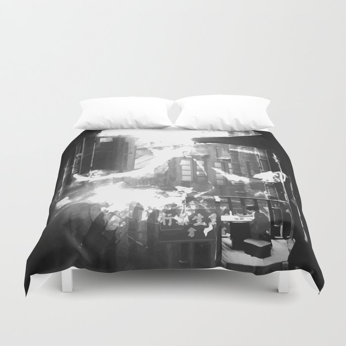 Skull City Duvet Cover