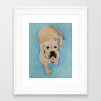 miles davis Framed Art Prints featuring miles by Lynn Monroe