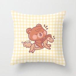 Ginger - Montar a Caballo Throw Pillow