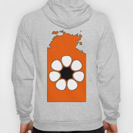 Northern Territory Australia Map with NT Flag Hoody