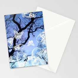 Llansteffan woodland Stationery Cards