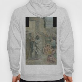 Annibale Carracci - Miracle of the Roses (1606) Hoody