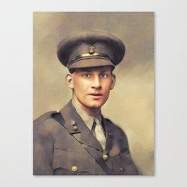Wilfred Owen, Literary Legend Canvas Print