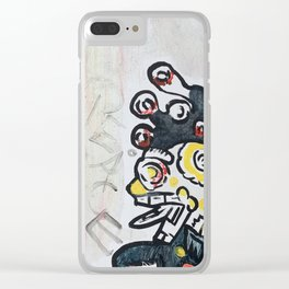 Just Peace Clear iPhone Case