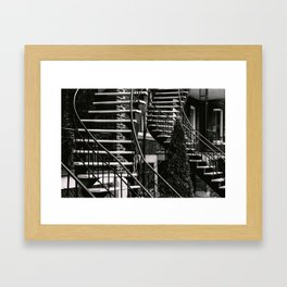 Chutes and Ladders Framed Art Print