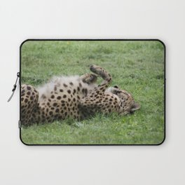 Cheetahs don't always run Laptop Sleeve