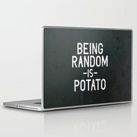 random Laptop & iPad Skins featuring Random by Vectored Life