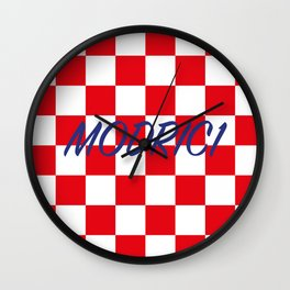 Lukas Modric number one Wall Clock