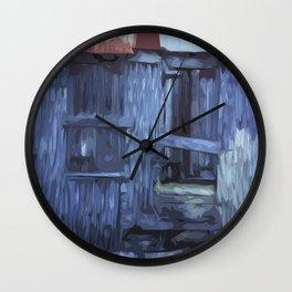 ST. Maarten Store Front Wall Clock