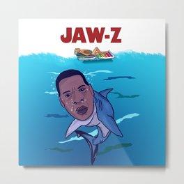 JAW-Z Metal Print