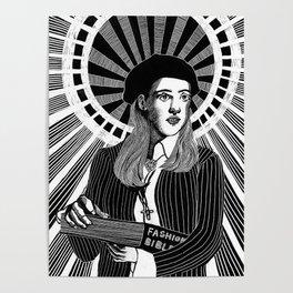 Patron Saint of 90s Fashion Poster