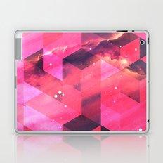 Geometrical pink shapes Laptop & iPad Skin