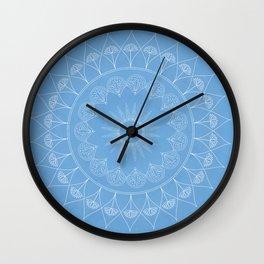 Mandala Winter Kukka Wall Clock