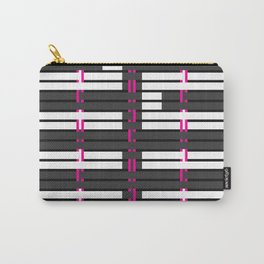 Licorice Bytes, No.4 in Black and Pink Carry-All Pouch