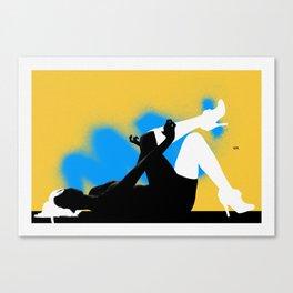 Vixenn - left decor - collection Canvas Print