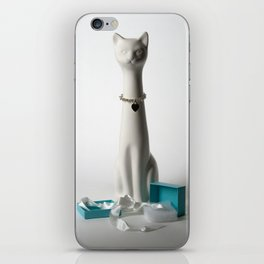 Tiffany Cat iPhone Skin