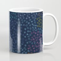 constellations Mugs featuring Constellations by datavis/pwowk
