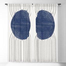 Blue Perfect Balance Blackout Curtain