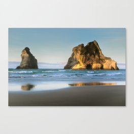 Beachy reflections Canvas Print