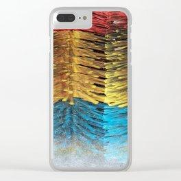 car wash Clear iPhone Case