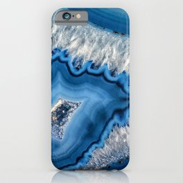 Blue agate 3064 iPhone Case