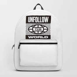 UNFOLLOW THE WORLD Backpack