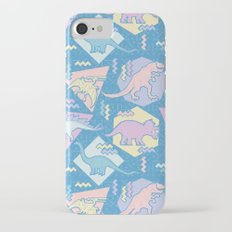 Nineties Dinosaurs Pattern  - Pastel version Slim Case iPhone 7